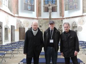 Group PARADOXA: Ebeling-Nowotny-Kaufer / in Regensburg Minoritenkirche