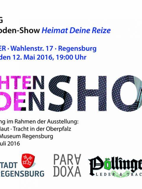 """Live ReadyMade """"Heimat Deine Reize"""" Einladung"""
